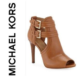 MICHAEL Michael Kors Blaze tan booties